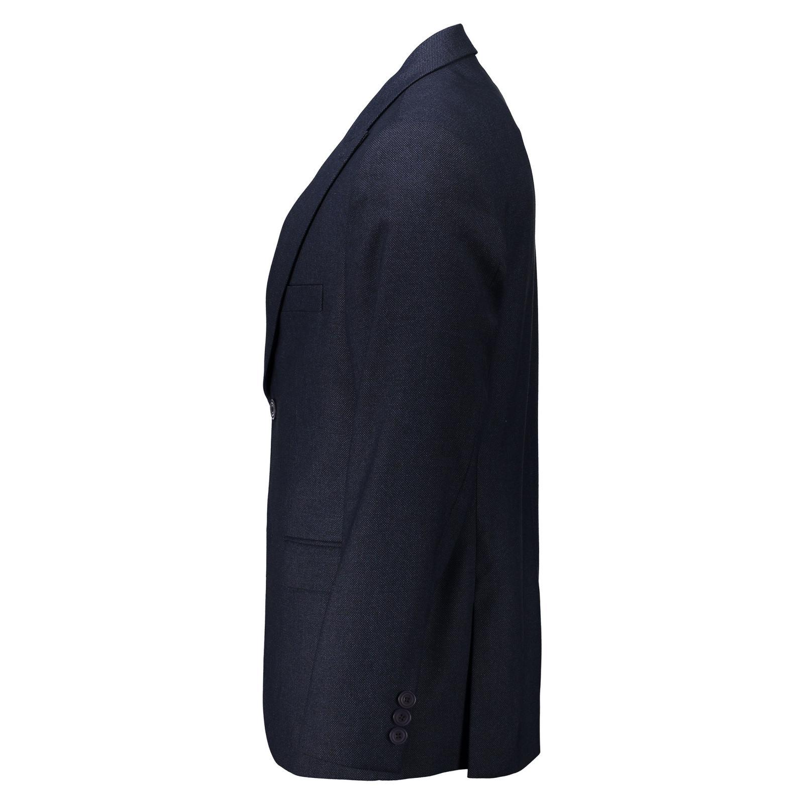 کت تک رسمی مردانه - خانه مد راد - سرمه اي - 2