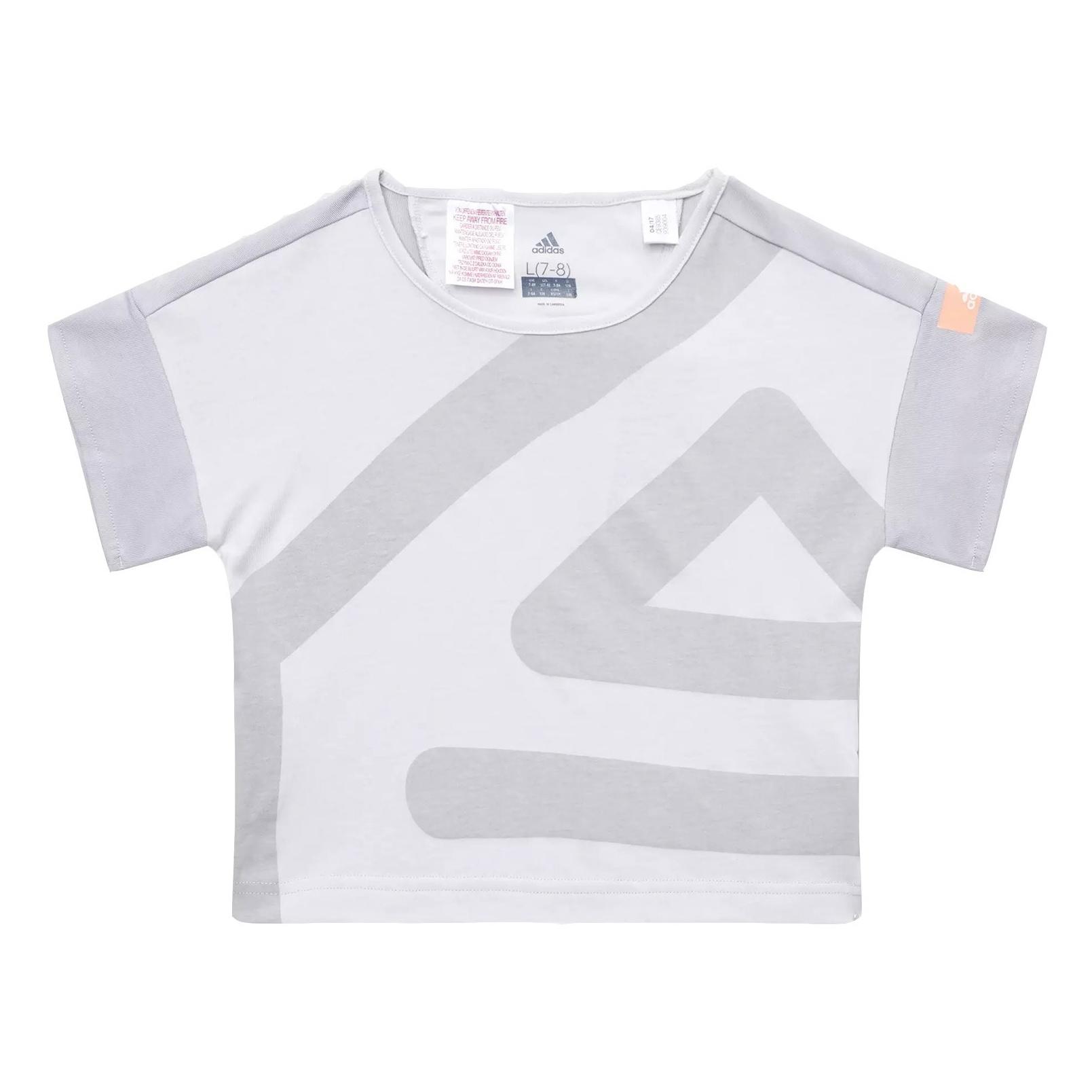 تی شرت ورزشی نخی دخترانه - آدیداس