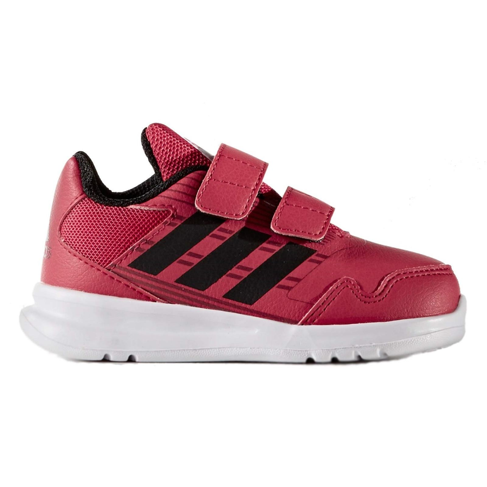 کفش دویدن چسبی بچگانه AltaRun - آدیداس - زرشکی - 1