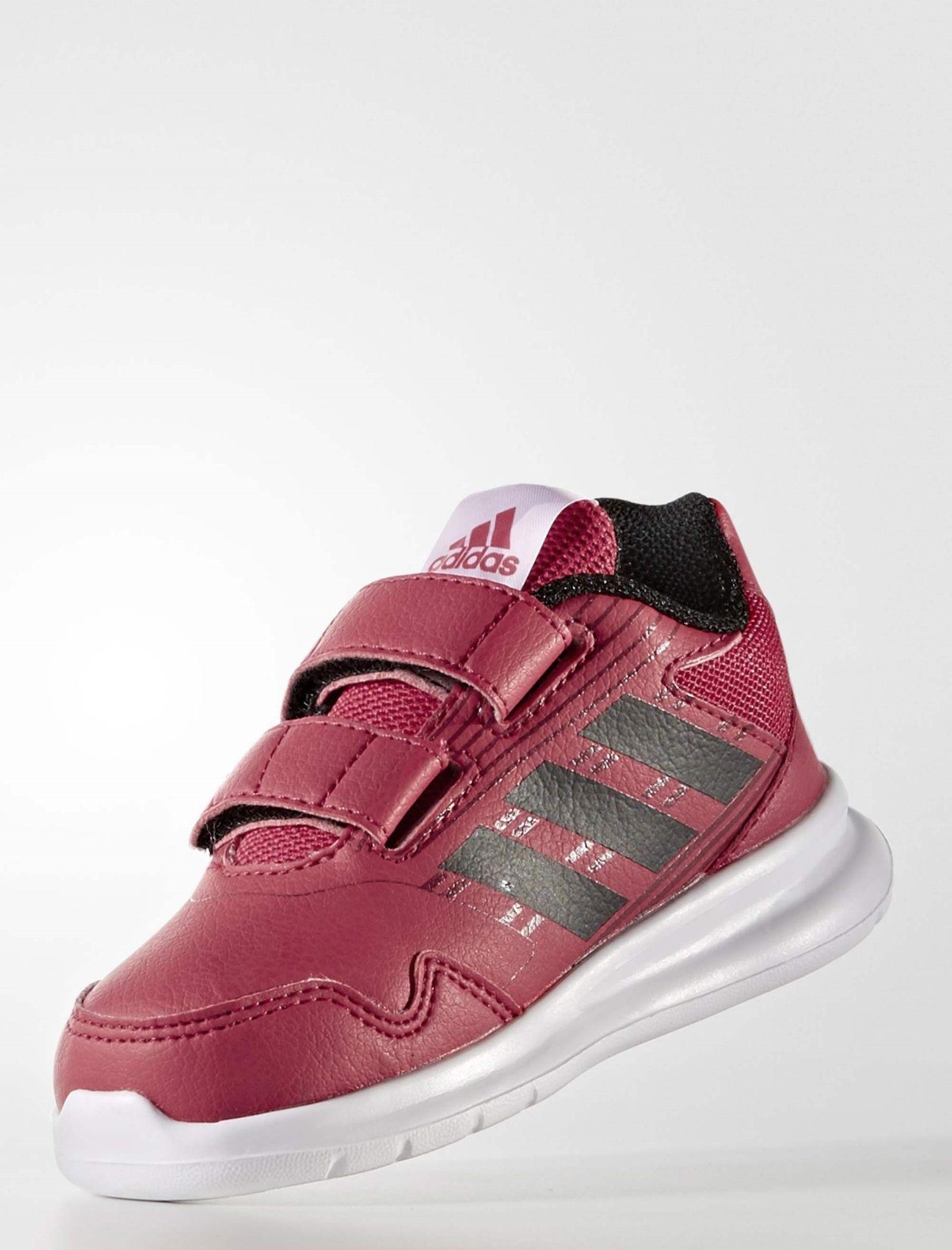کفش دویدن چسبی بچگانه AltaRun - آدیداس - زرشکی - 3