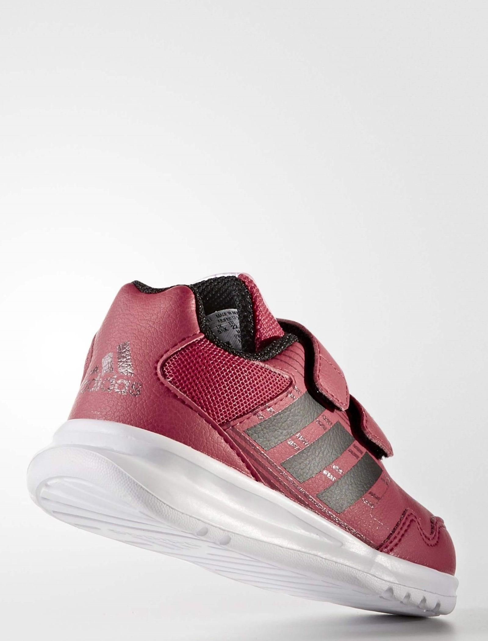 کفش دویدن چسبی بچگانه AltaRun - آدیداس - زرشکی - 5