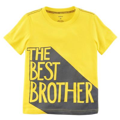 تیشرت کارترز طرح The Best Brother کد 131