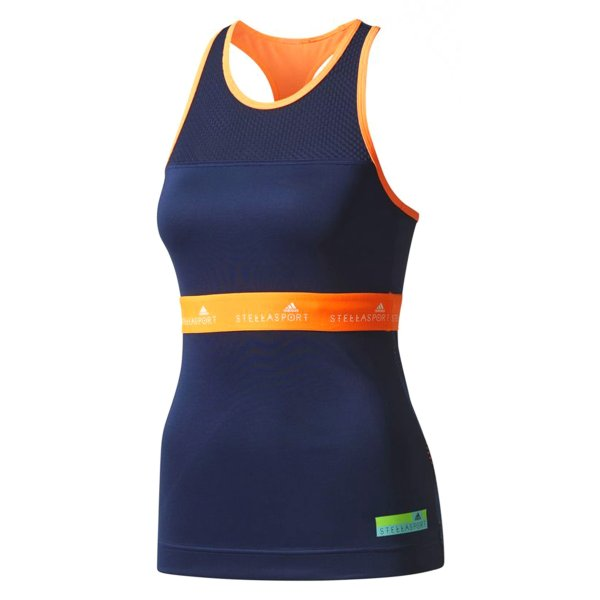 تاپ ورزشی یقه گرد زنانه STELLASPORT Icon Tank - آدیداس
