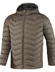 کاپشن کوتاه مردانه Down Jacket - ریباک - زيتوني قهوه اي - 1