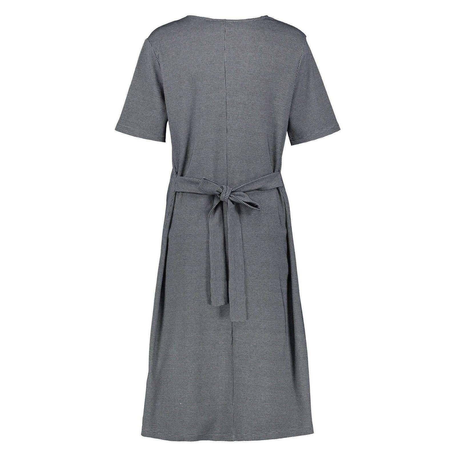 پیراهن نخی میدی زنانه - کوتون - آبي - 2