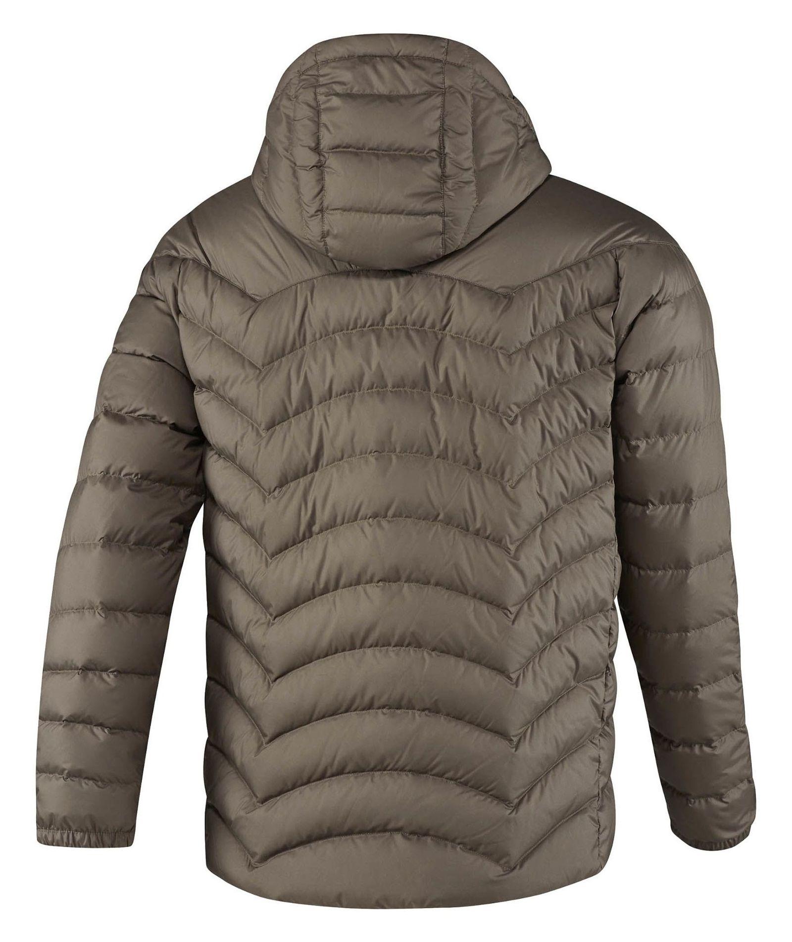 کاپشن کوتاه مردانه Down Jacket - ریباک - زيتوني قهوه اي - 2