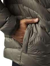 کاپشن کوتاه مردانه Down Jacket - ریباک - زيتوني قهوه اي - 8