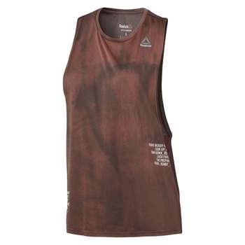 تاپ ورزشی زنانه ریباک سری Combat Spray Dye مدل BR0357