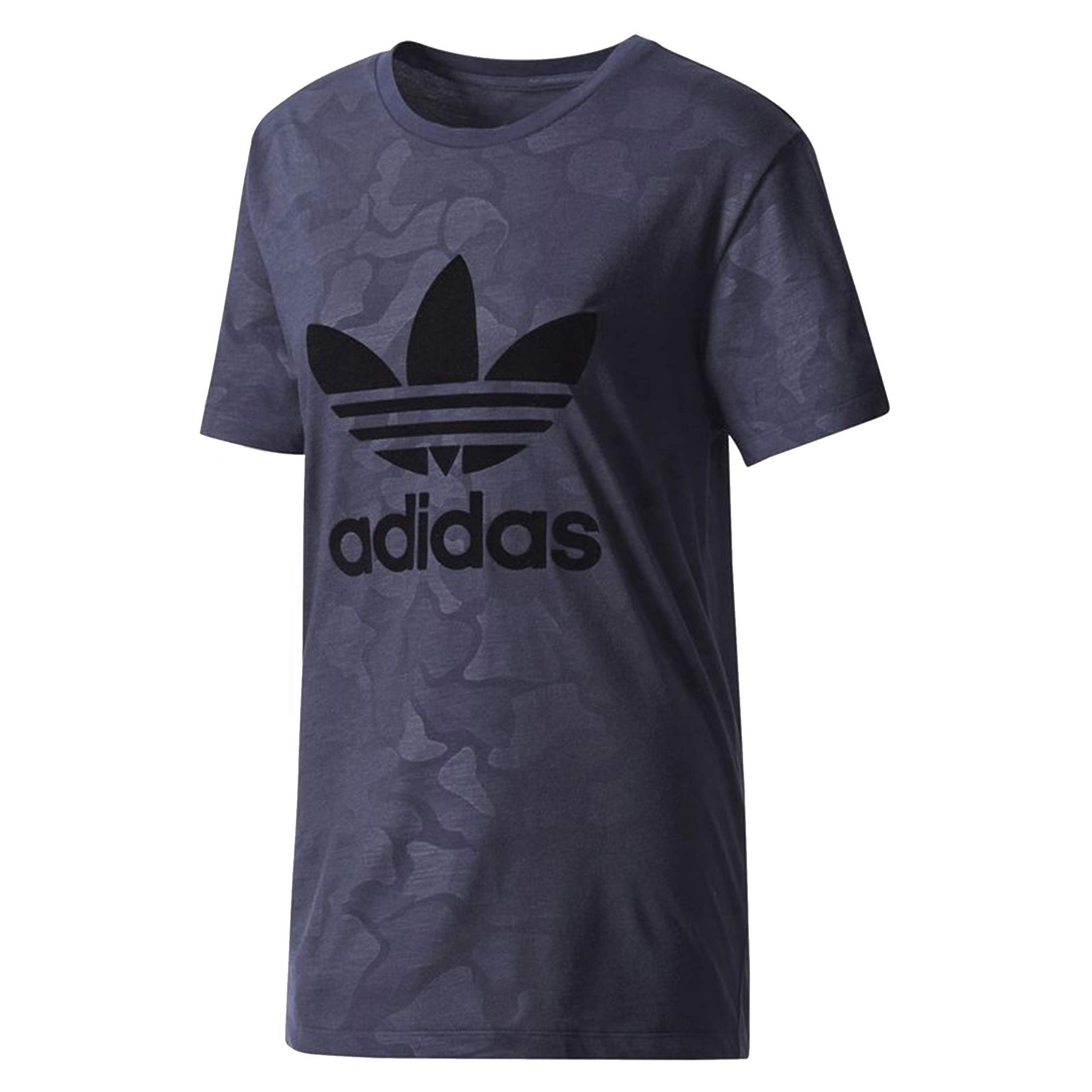 تی شرت یقه گرد زنانه Trefoil - آدیداس