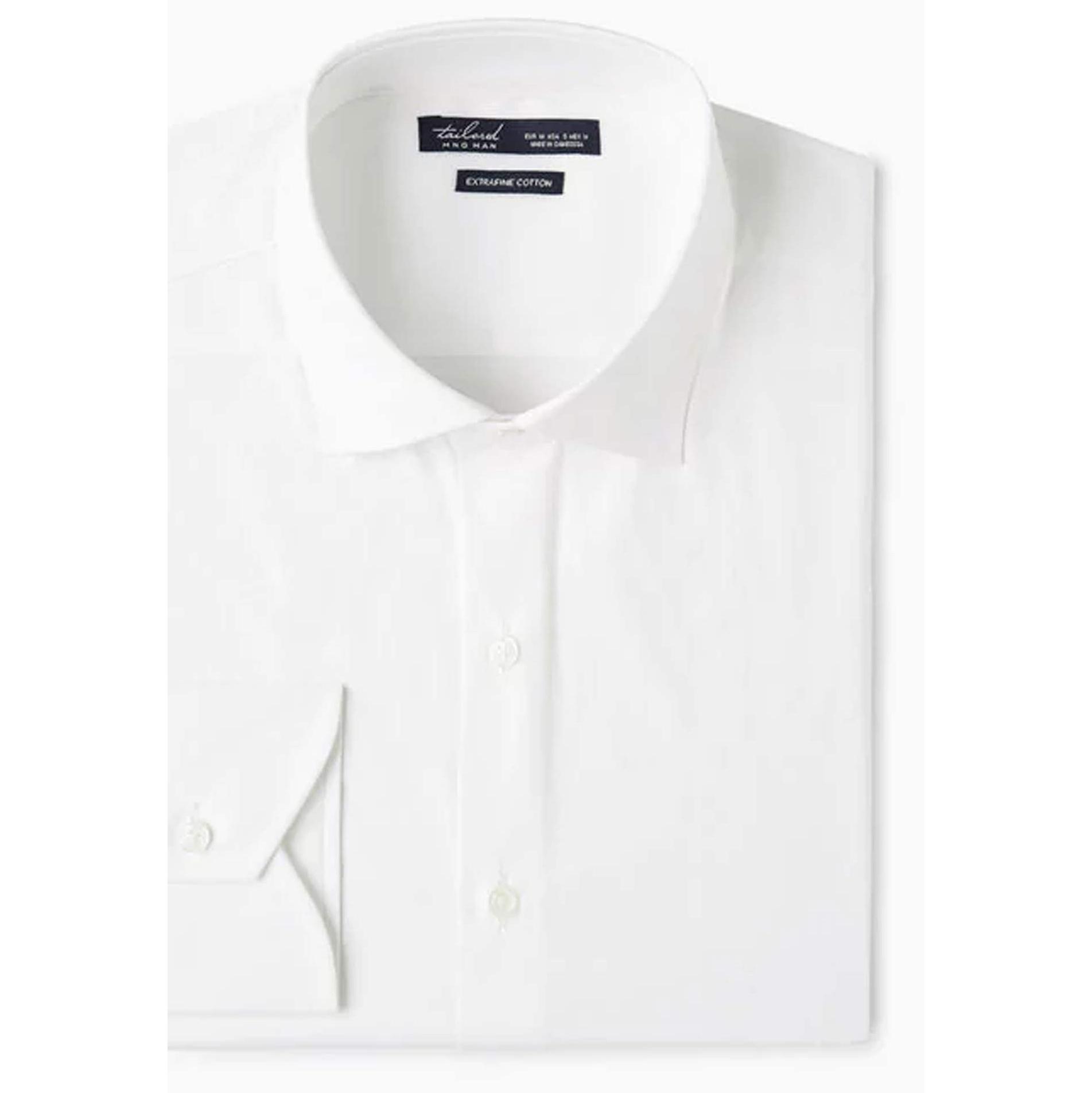 پیراهن نخی آستین بلند مردانه – مانگو