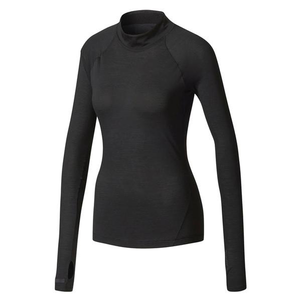 تی شرت ورزشی آستین بلند زنانه Climaheat Turtleneck - آدیداس