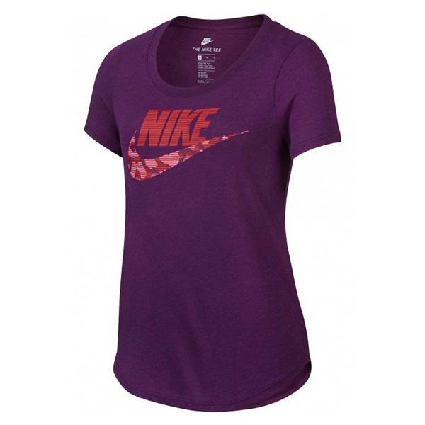 تی شرت ورزشی آستین کوتاه دخترانه FUTURA - نایکی