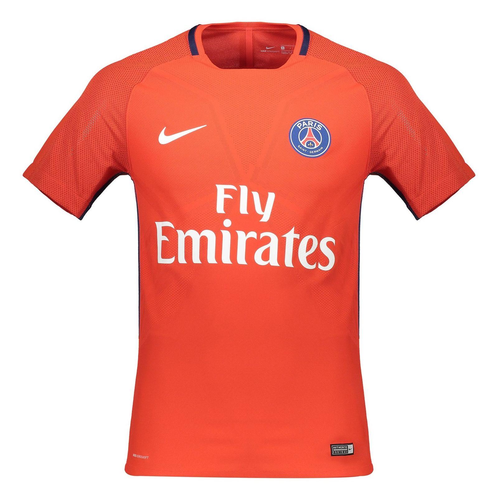 تی شرت ورزشی آستین کوتاه مردانه PSG - نایکی - قرمز - 3