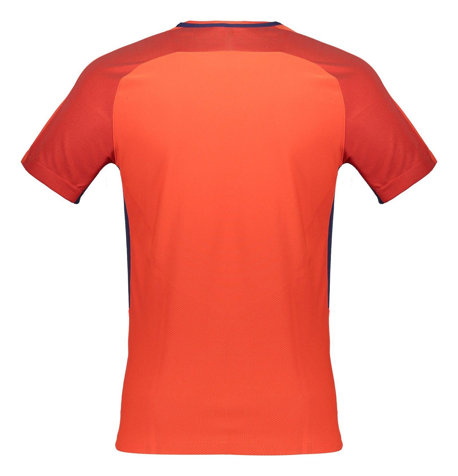 تی شرت ورزشی آستین کوتاه مردانه PSG - نایکی - قرمز - 4