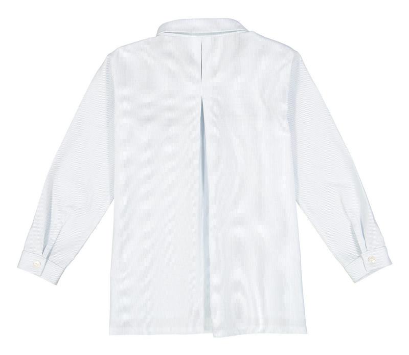 پیراهن نخی آستین بلند پسرانه مدل آرتین - دایان