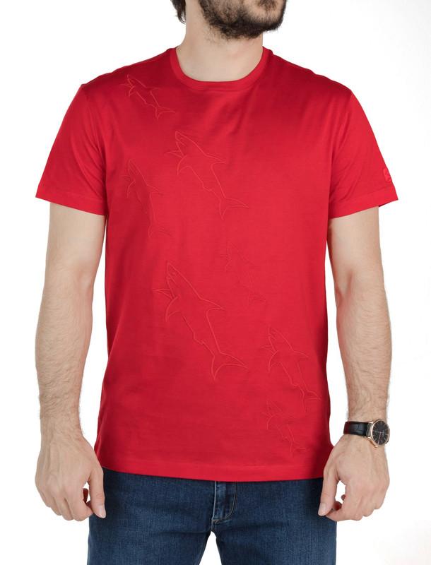 تی شرت نخی آستین کوتاه مردانه - پاول اند شارک