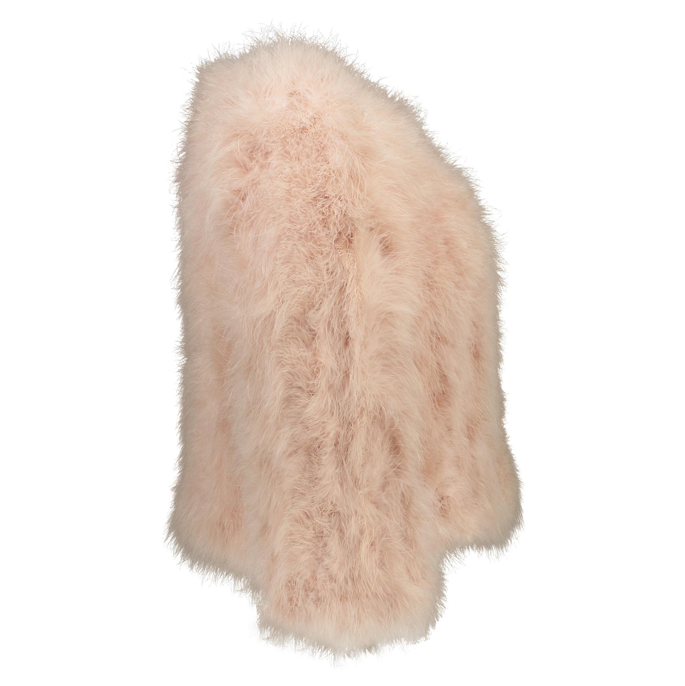 کت پر کوتاه زنانه - مانگو - صورتی - 2