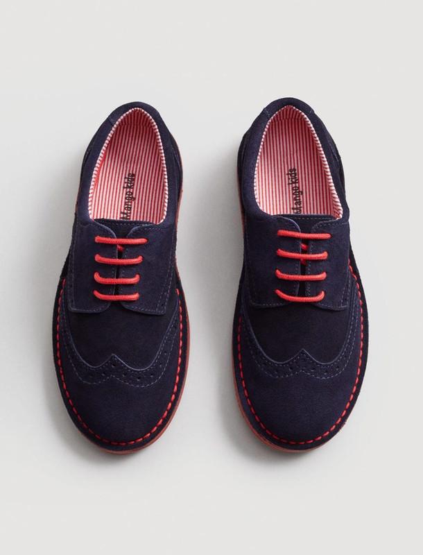 کفش مهمانی جیر بندی پسرانه - مانگو