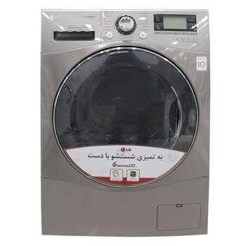 ماشین لباسشویی ال جی مدل WM-412SS با ظرفیت 12 کیلوگرم   LG WM-412SS Washing Machine - 12 Kg