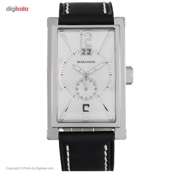 خرید ساعت مچی عقربه ای مردانه رومانسون مدل TL8901UM1WAS2W