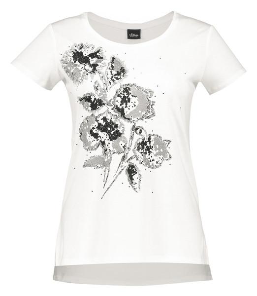 تی شرت یقه گرد زنانه - اس.اولیور
