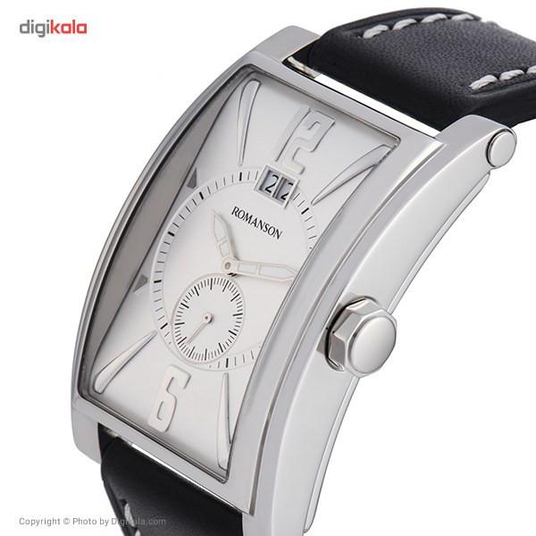 ساعت مچی عقربه ای مردانه رومانسون مدل TL8901UM1WAS2W