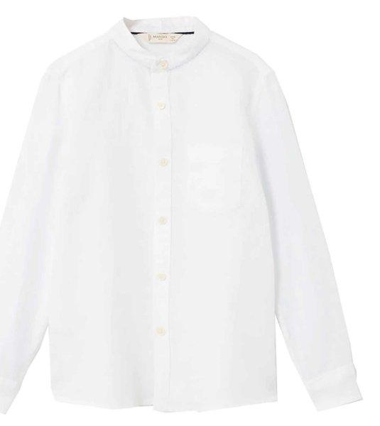 پیراهن آستین بلند پسرانه - مانگو