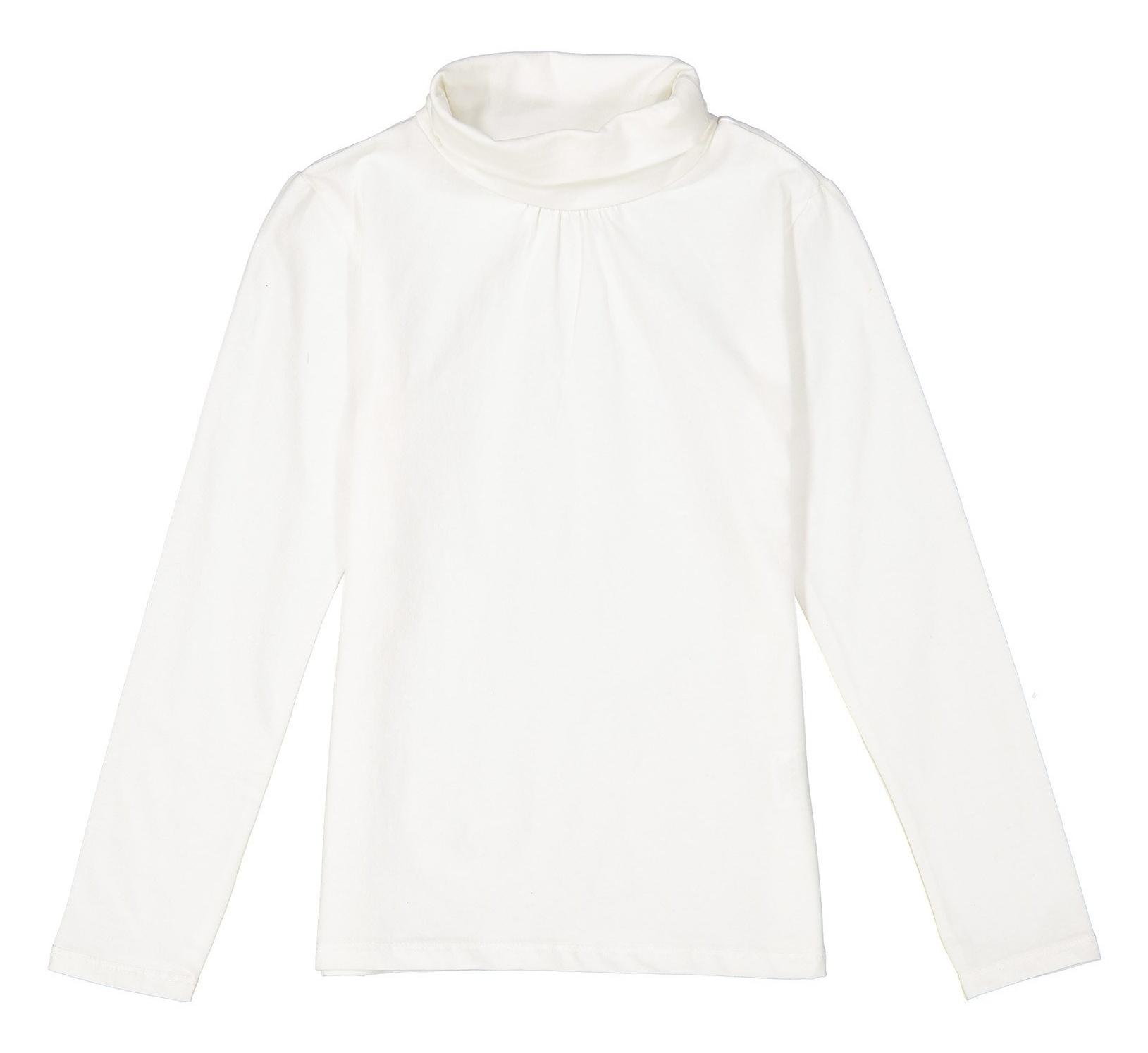 تی شرت نخی یقه اسکی دخترانه - ایدکس