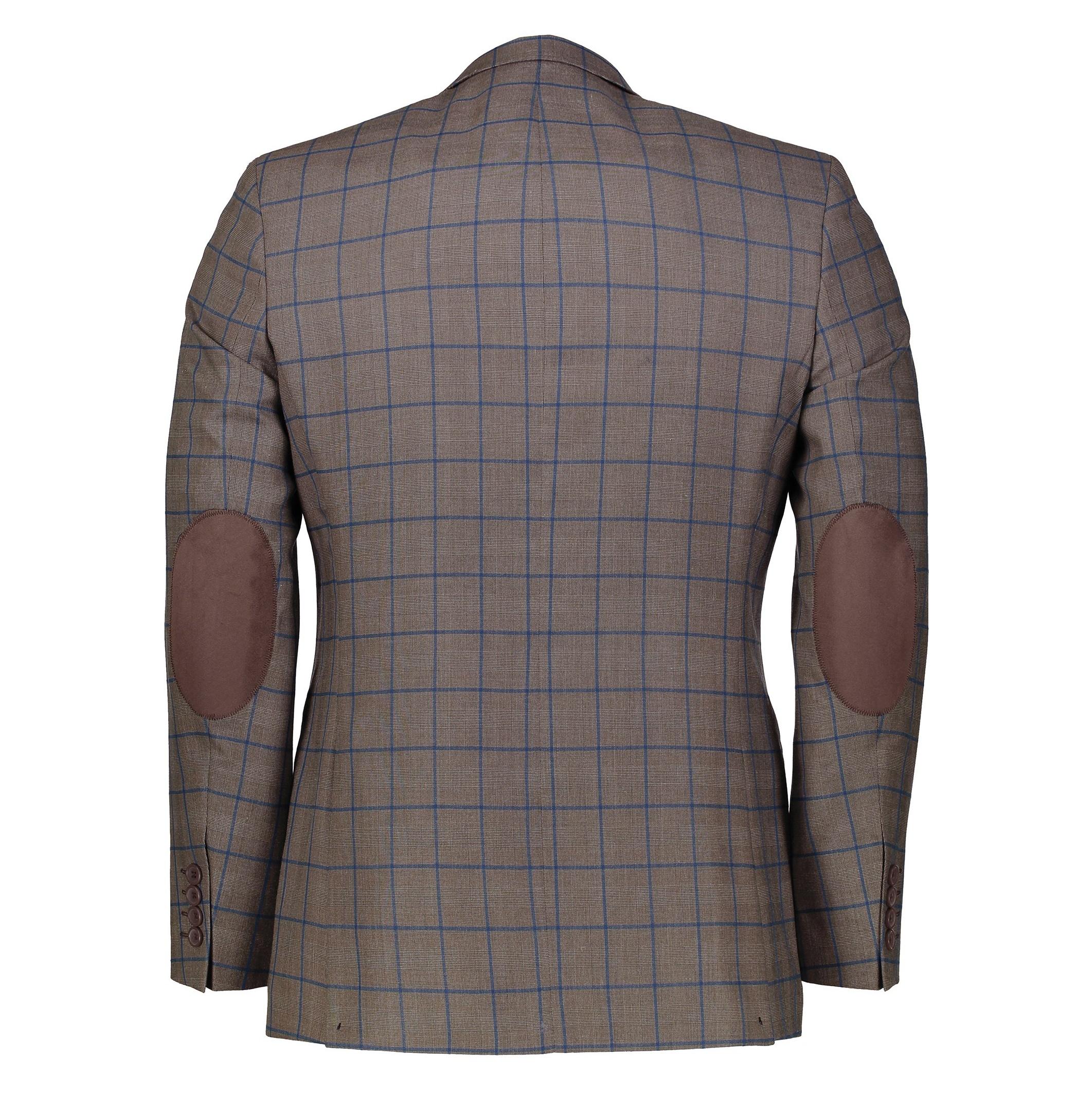 کت تک  غیر رسمی مردانه - زاگرس پوش - قهوه اي روشن - 2