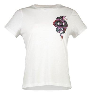 تصویر تی شرت یقه گرد زنانه – ورو مدا