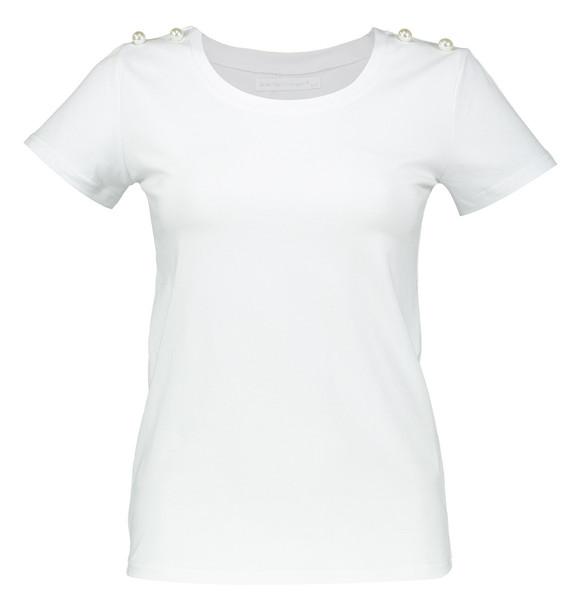 تی شرت نخی یقه گرد زنانه - ژان لوییس فرانسوا