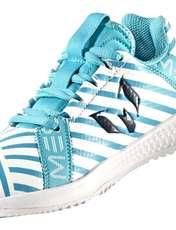 کفش فوتبال بندی پسرانه RapidaTurf Messi - آدیداس - آبی و سفید - 4