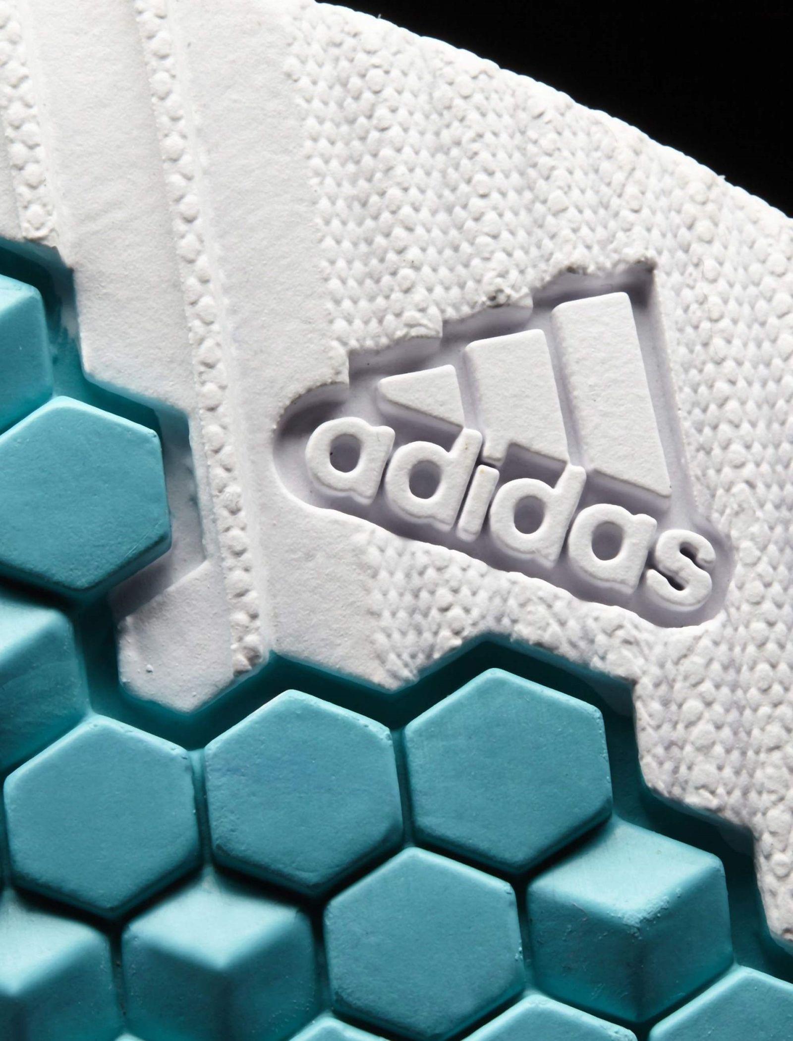کفش فوتبال بندی پسرانه RapidaTurf Messi - آدیداس - آبی و سفید - 8
