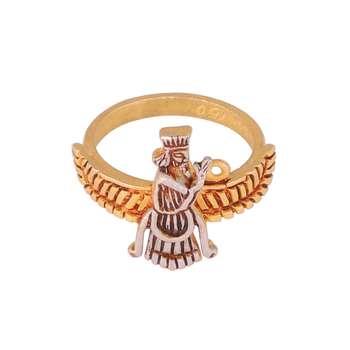 انگشتر طلا 18 عیار زنانه کد G605