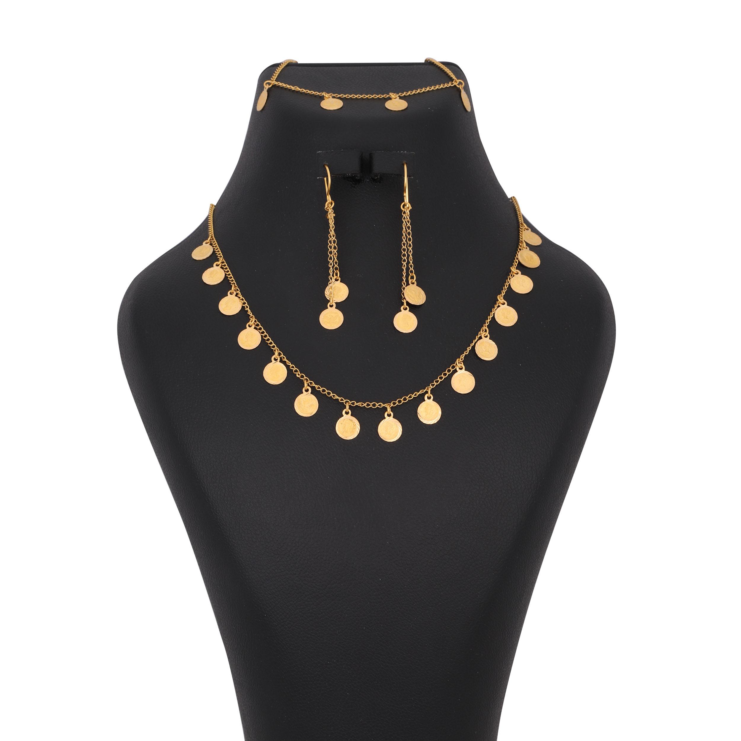 ست طلا 18 عیار زنانه کد G606