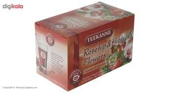 دمنوش کیسه ای تی کانه مدل Roseship and Hibiscus Flowers بسته 20 عددی
