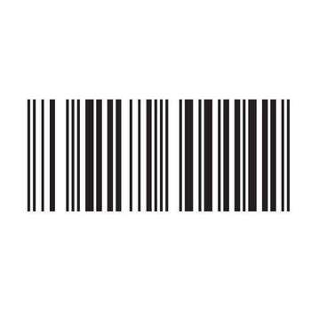 برچسب بدنه خودرو طرح Barcode کد 002