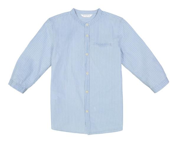 پیراهن نخی یقه گرد پسرانه - مانگو