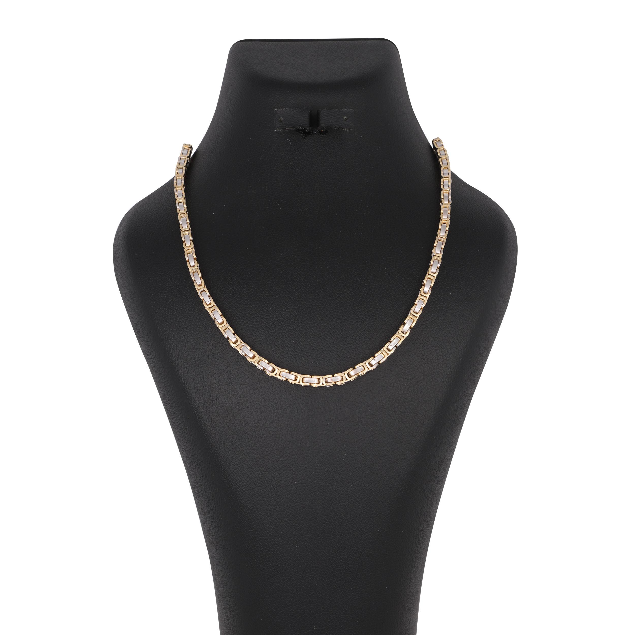 گردنبند طلا 18 عیار زنانه کد G619