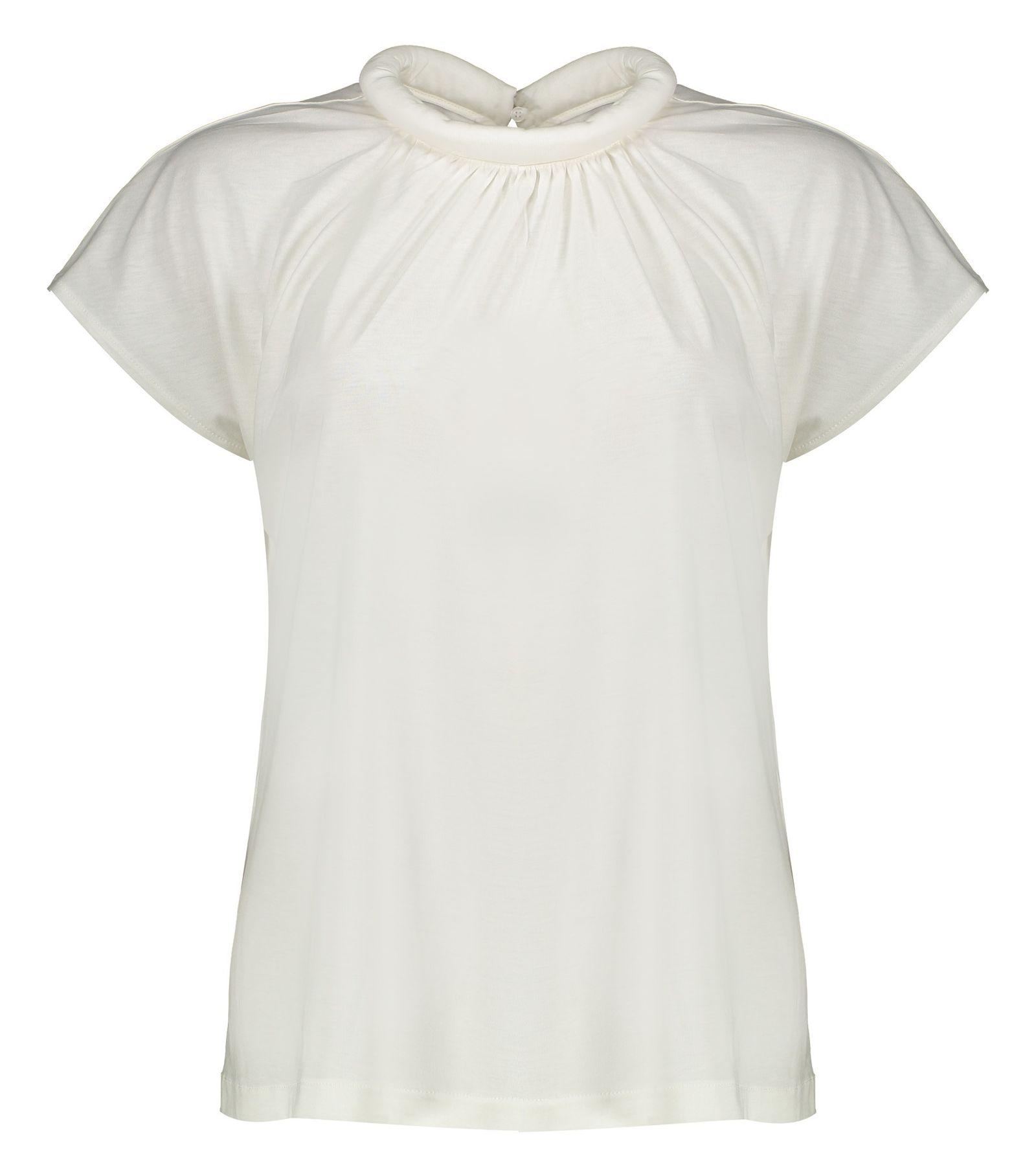تی شرت یقه گرد زنانه - مانگو - سفید - 1
