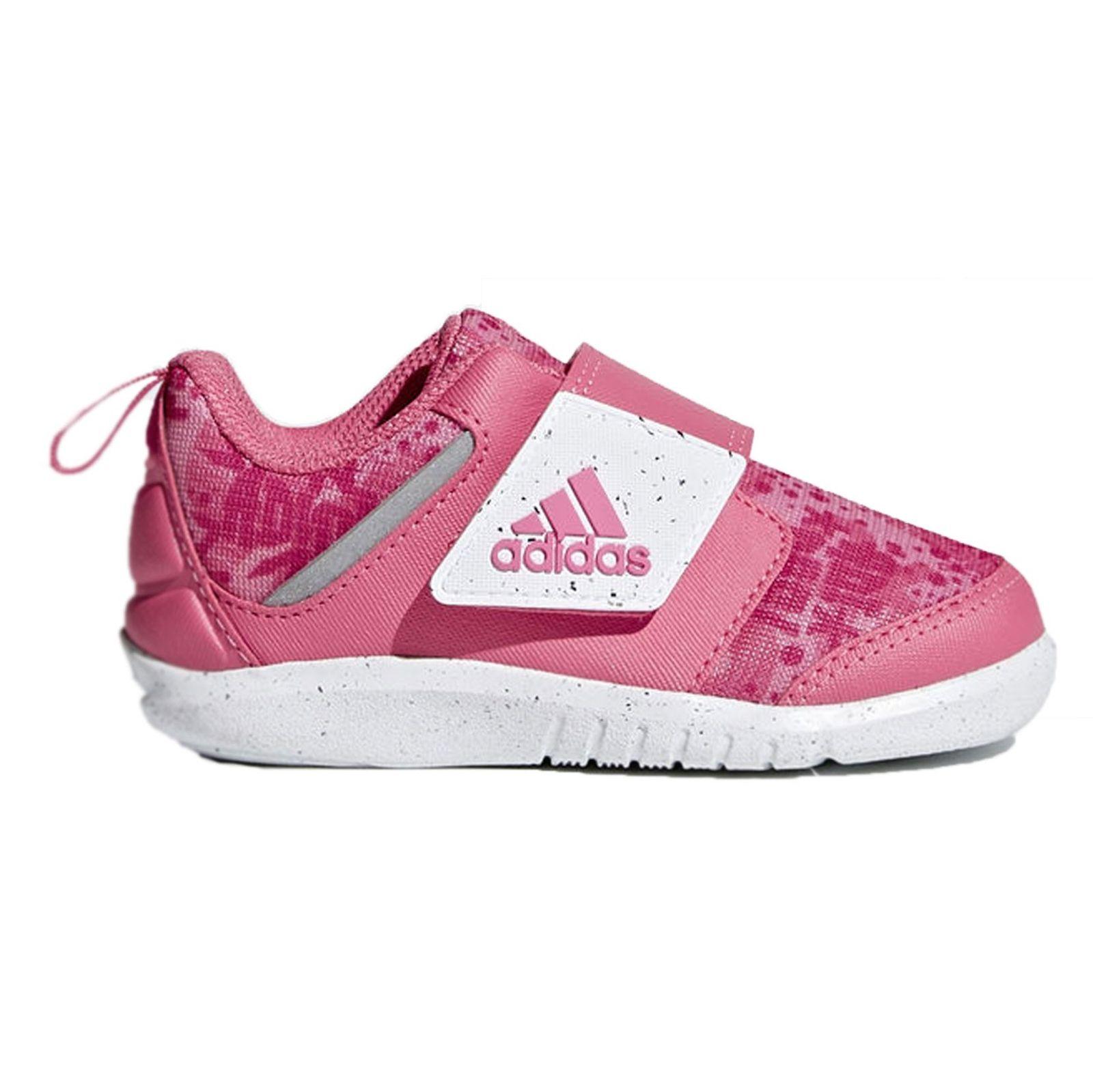 کفش تمرین چسبی دخترانه FortaPlay - آدیداس - صورتی - 1