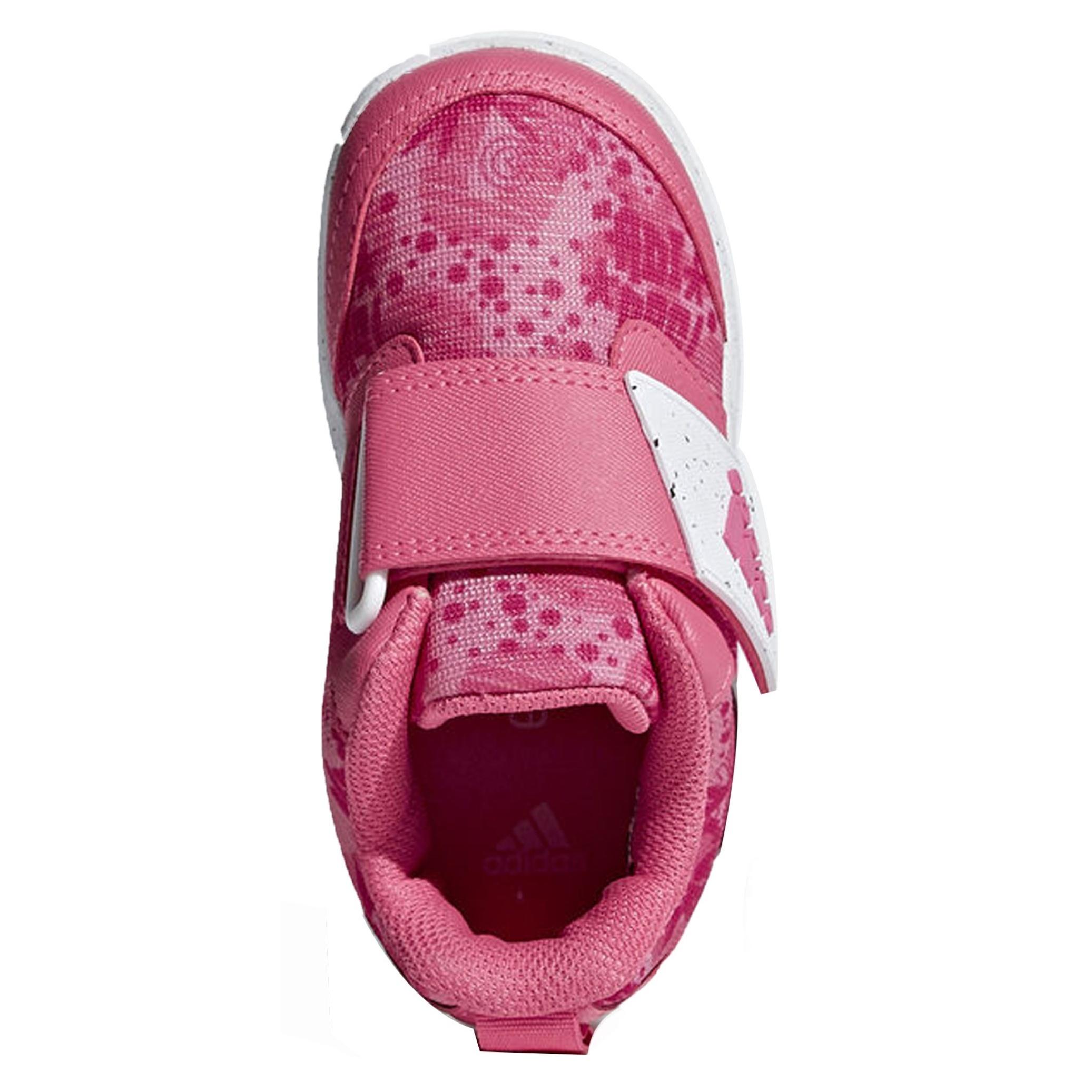 کفش تمرین چسبی دخترانه FortaPlay - آدیداس - صورتی - 3