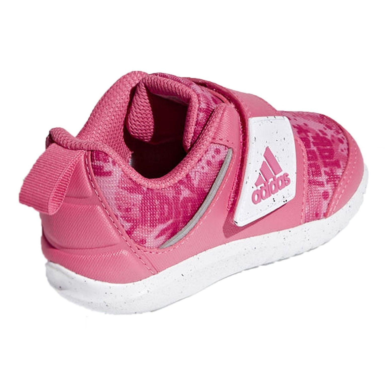 کفش تمرین چسبی دخترانه FortaPlay - آدیداس - صورتی - 4