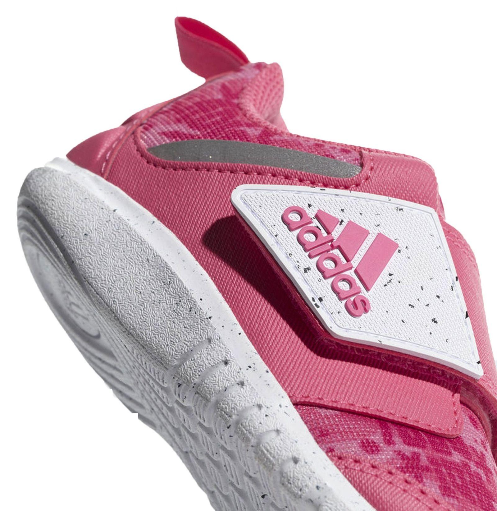 کفش تمرین چسبی دخترانه FortaPlay - آدیداس - صورتی - 5