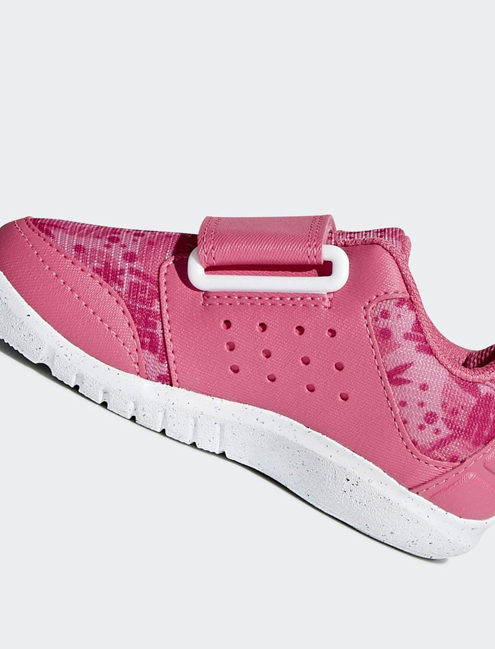 کفش تمرین چسبی دخترانه FortaPlay - آدیداس - صورتی - 6