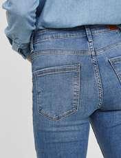 شلوار جین جذب زنانه - ورو مدا - آبي - 5