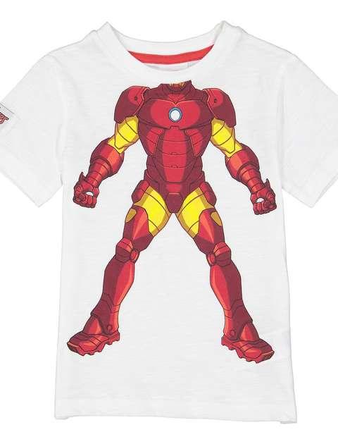 تی شرت نخی یقه گرد پسرانه - بلوزو