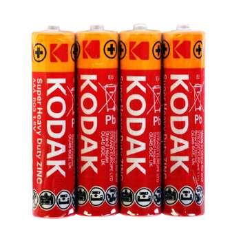 باتری قلمی کداک مدل Super Heavy Duty بسته 4 عددی