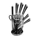 سرویس چاقو آشپزخانه 9 پارچه یونیک مدل UN-97 thumb