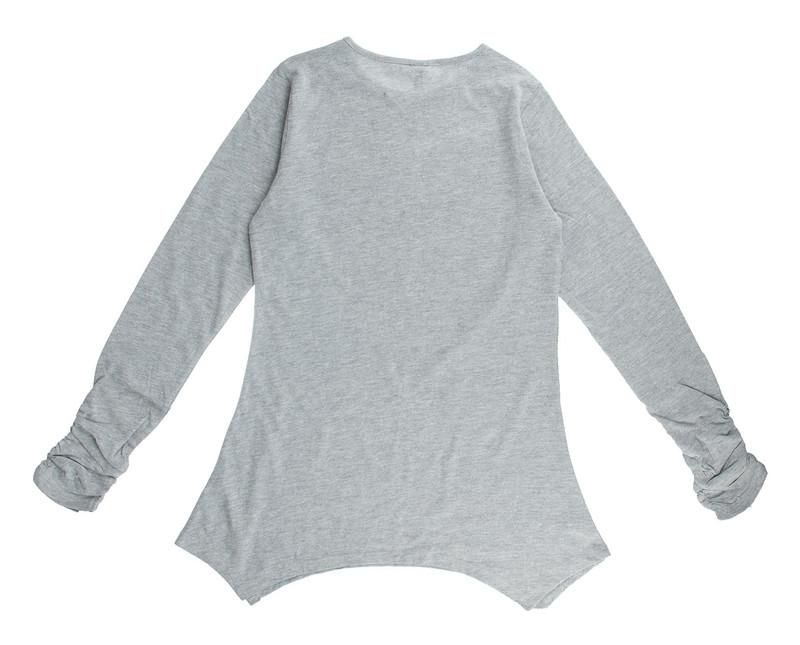 تی شرت نخی آستین بلند دخترانه - ایدکس